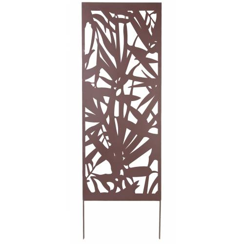 Decorative Trellis in Metal - Palm Tree - 0,6x1,5m