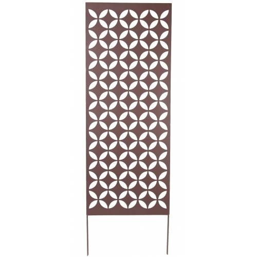 Decorative Trellis in Metal - Draughtboard