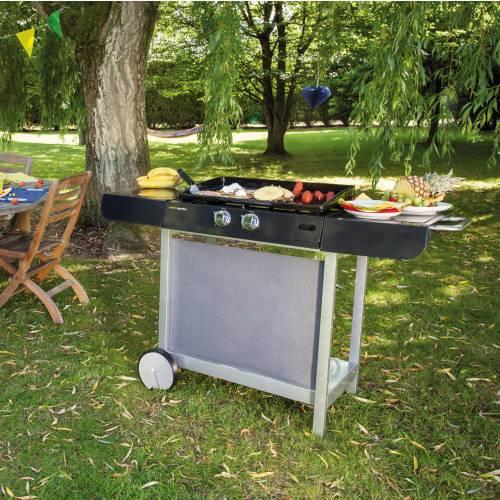 plancha on trolley - finesta 63 - cook'in garden : buy plancha on