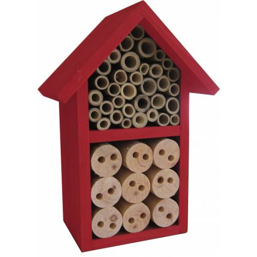 Insects Hotel - Red - COLOR: Caillard