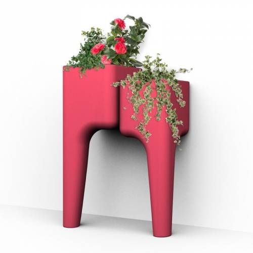 KIGA kitchen garden table S - Red - Hurbz