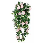 plante artificielle - liseron rose - mica