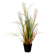 plante artificielle - roseau marron - mica